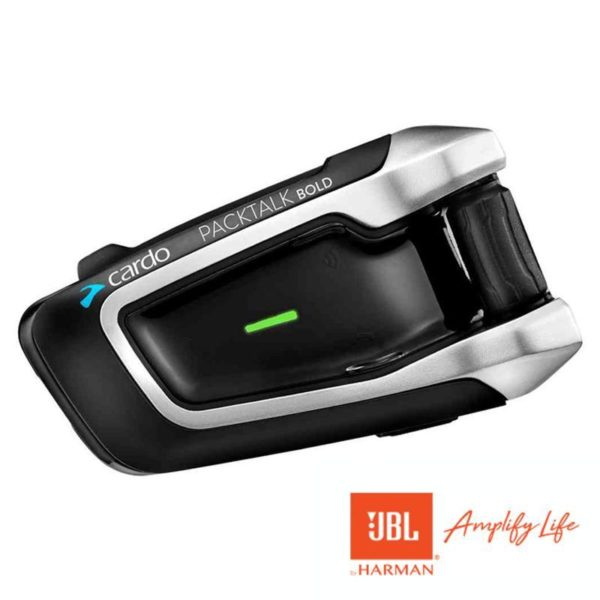 Cardo Packtalk Bold - JBL Speakers | Single