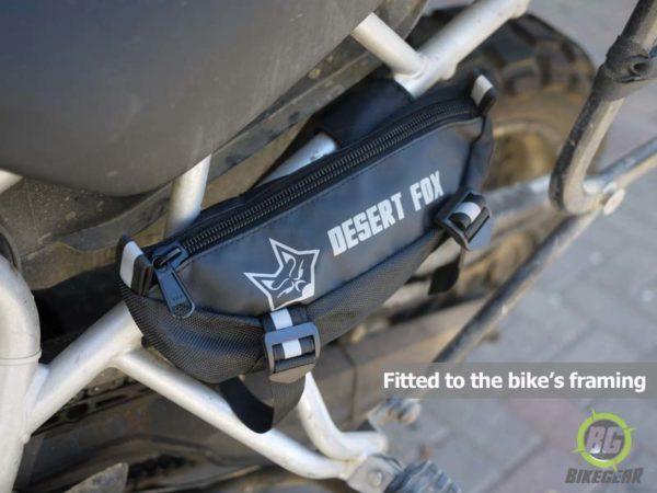 Desert Fox EzPack Handlebar Bag - Crashbar