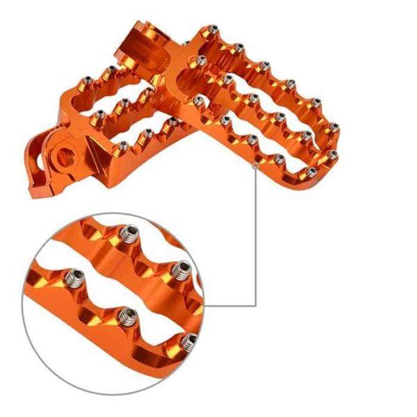 KTM ADV Wide CNC Foot Pegs