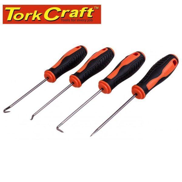 Tork Craft 4 Piece Hook Set