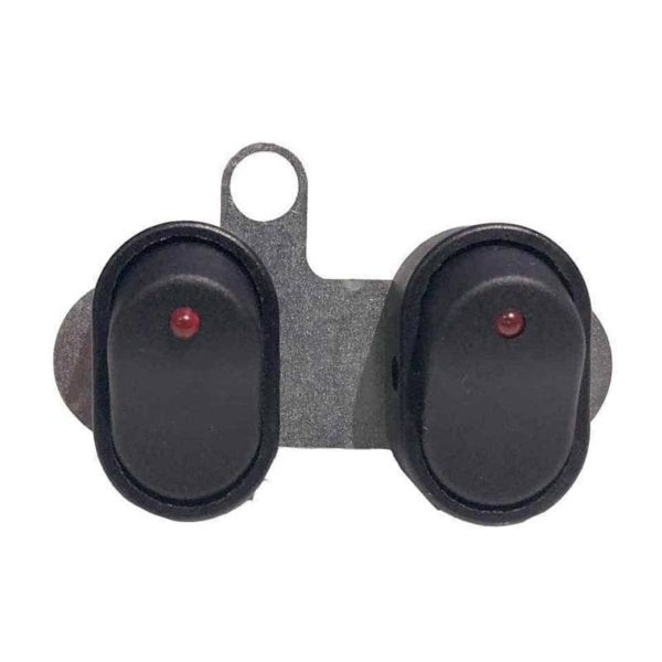 Double Spotlight Switch with mounting bracket