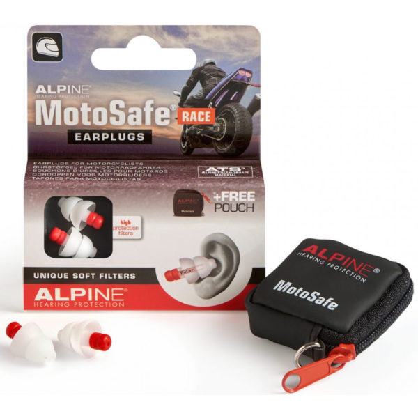Alpine Motosafe Race Earplugs