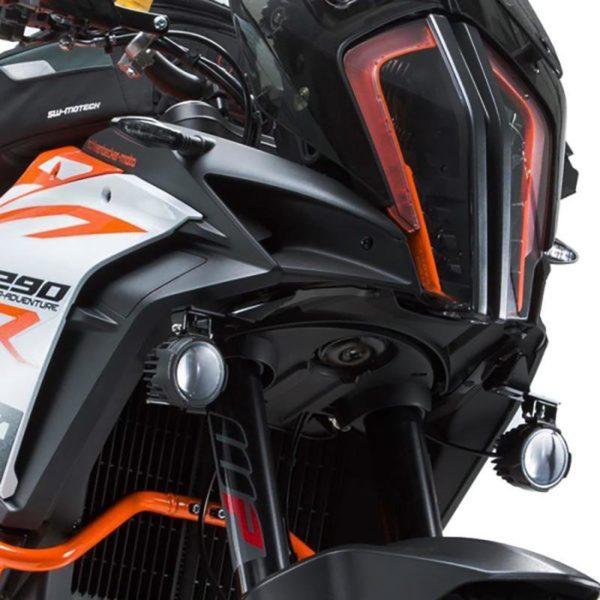 KTM 1290 SW Mototech Spotlight Mounting Brackets