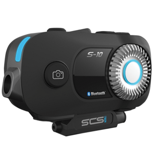 SCS – S10 Helmet Bluetooth With Action Camera