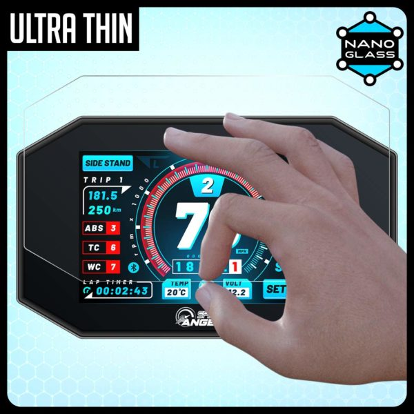 Speed O Angels Nano Glass TFT Screen Protector For BMW