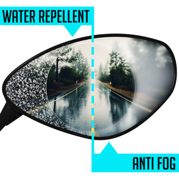 BMW Water Repellent | Anti Fog Motorcycle Wing Mirror Protectors - Twisted Trails