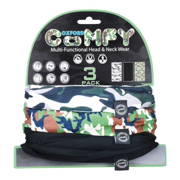 Oxford Comfy Buff Camo - Twisted Trails