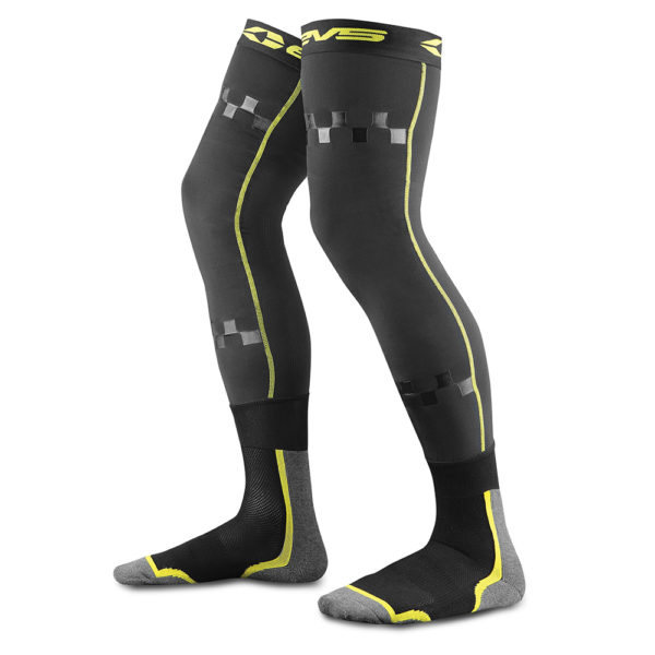 EVS Fusion Socks – Hi Viz Black | Fluo Yellow | Green