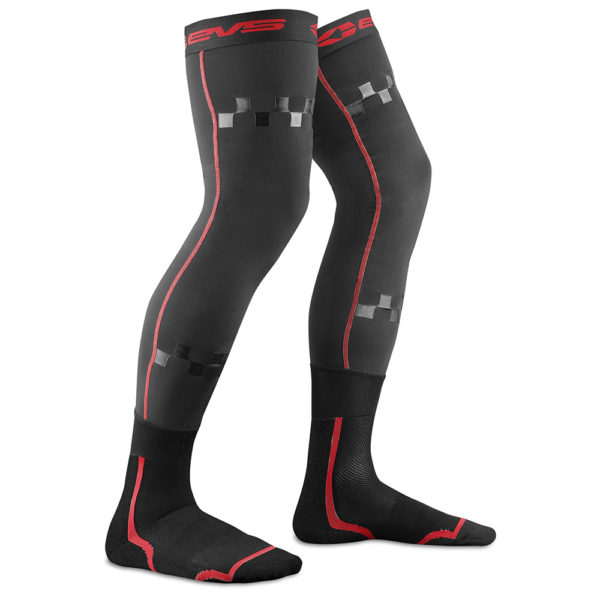 EVS Fusion Socks – Hi Viz Red - Twisted Trails