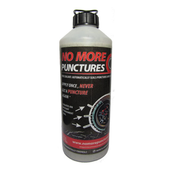 No More Punctures Tubeless Tyre Sealant - 1L