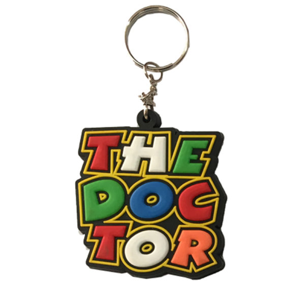The Doctor Keyring